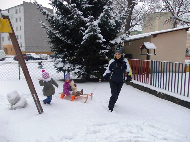 Bawimy się w śniegu