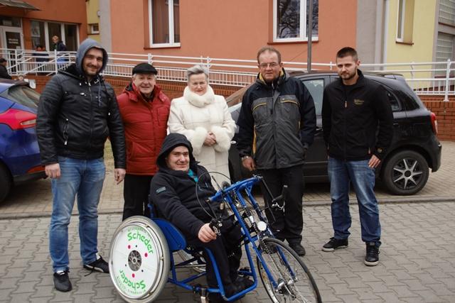 Zakup roweru dla osób niepełnosprawnych